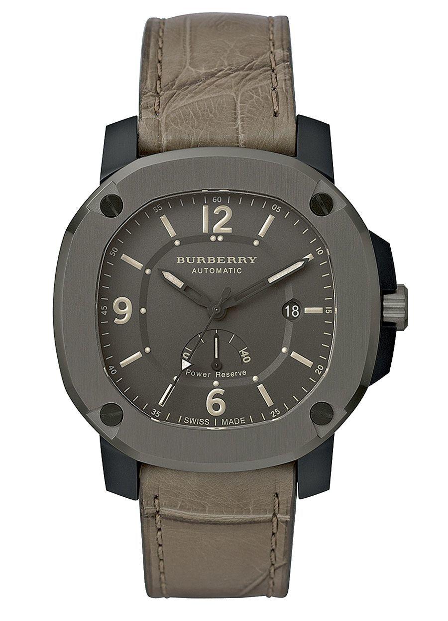 Lizenzmarke: Die Uhren, die Fossil für Burberry fertigt, sind ausnahmslos Swiss-Made-Produkte.