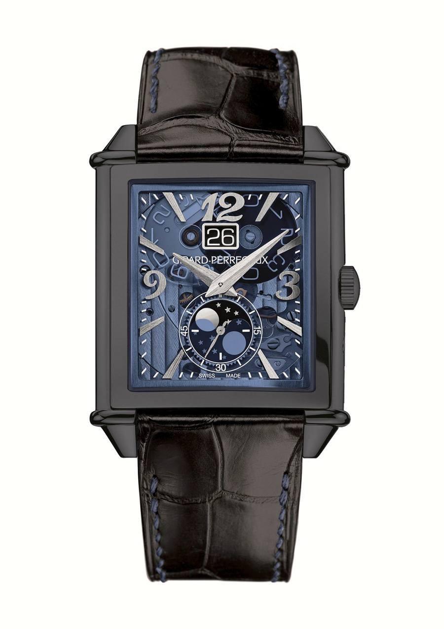 Girard-Perregaux: Vintage 1945 XXL mit Großdatum und Mondphasenanzeige