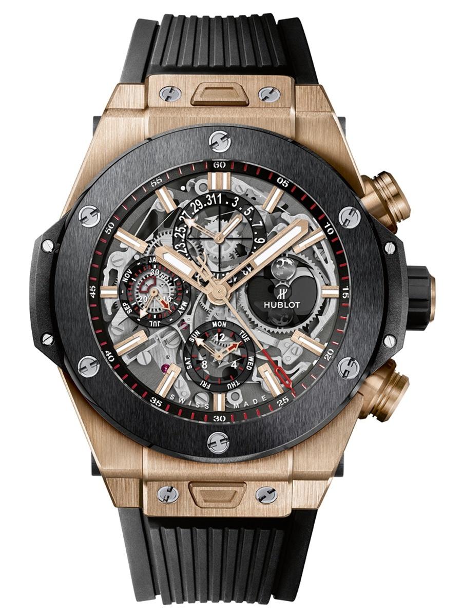 Hublot: Big Bang Unico Chronograph Perpetual Calendar King Gold