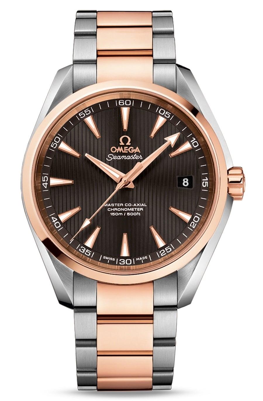 Omega: Seamaster Aqua Terra 150 M Omega Master Co-Axial 41,5 mm