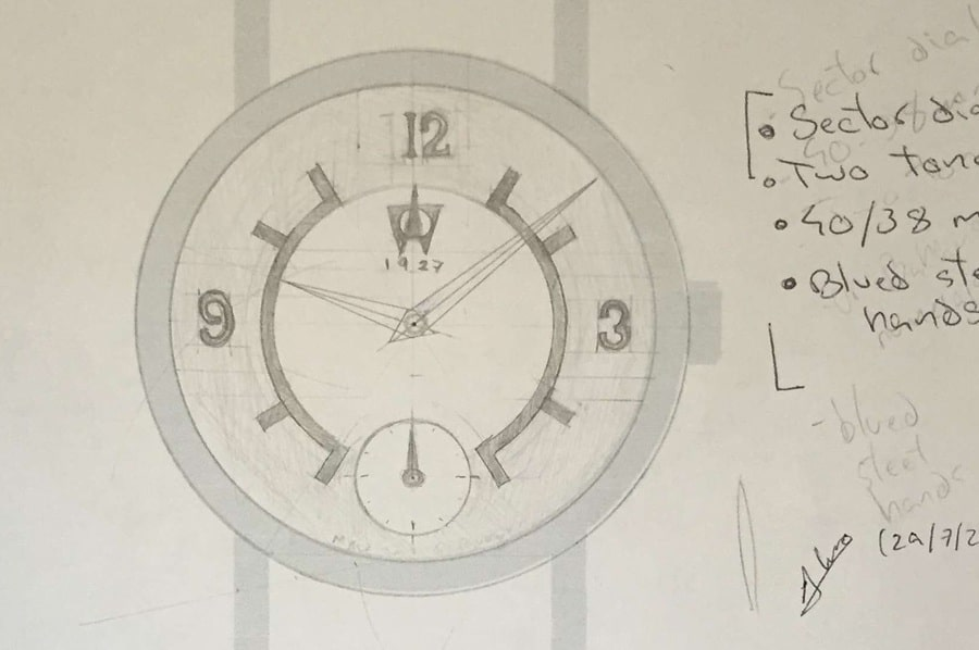 Eingereicht für den Kreativwettbewerb von Stowa und Watchtime.net: Entwurf von Álvaro Olivares, Spanien