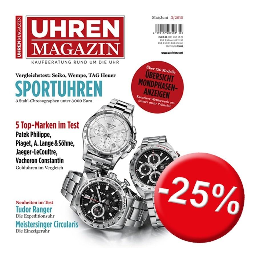 UHREN-MAGAZIN 03/2015, rabattiert