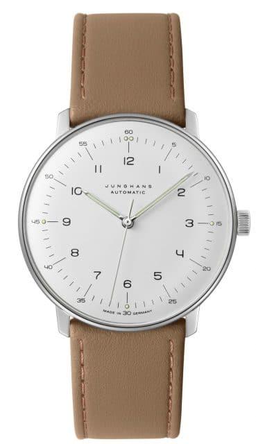 Platz 17 der meistgesuchten Uhren unter 1.000 Euro: Junghans Max Bill Automatic