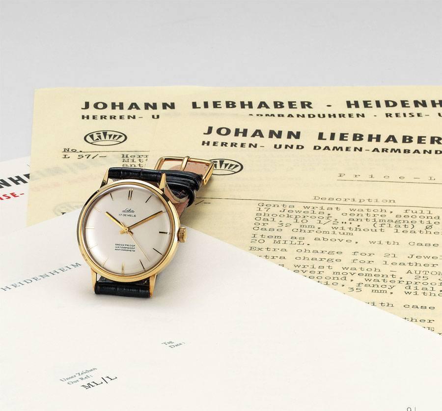 Vintage-Uhr Liha