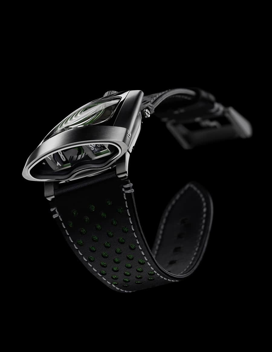 MB&F: HMX, British-Racing-Grün