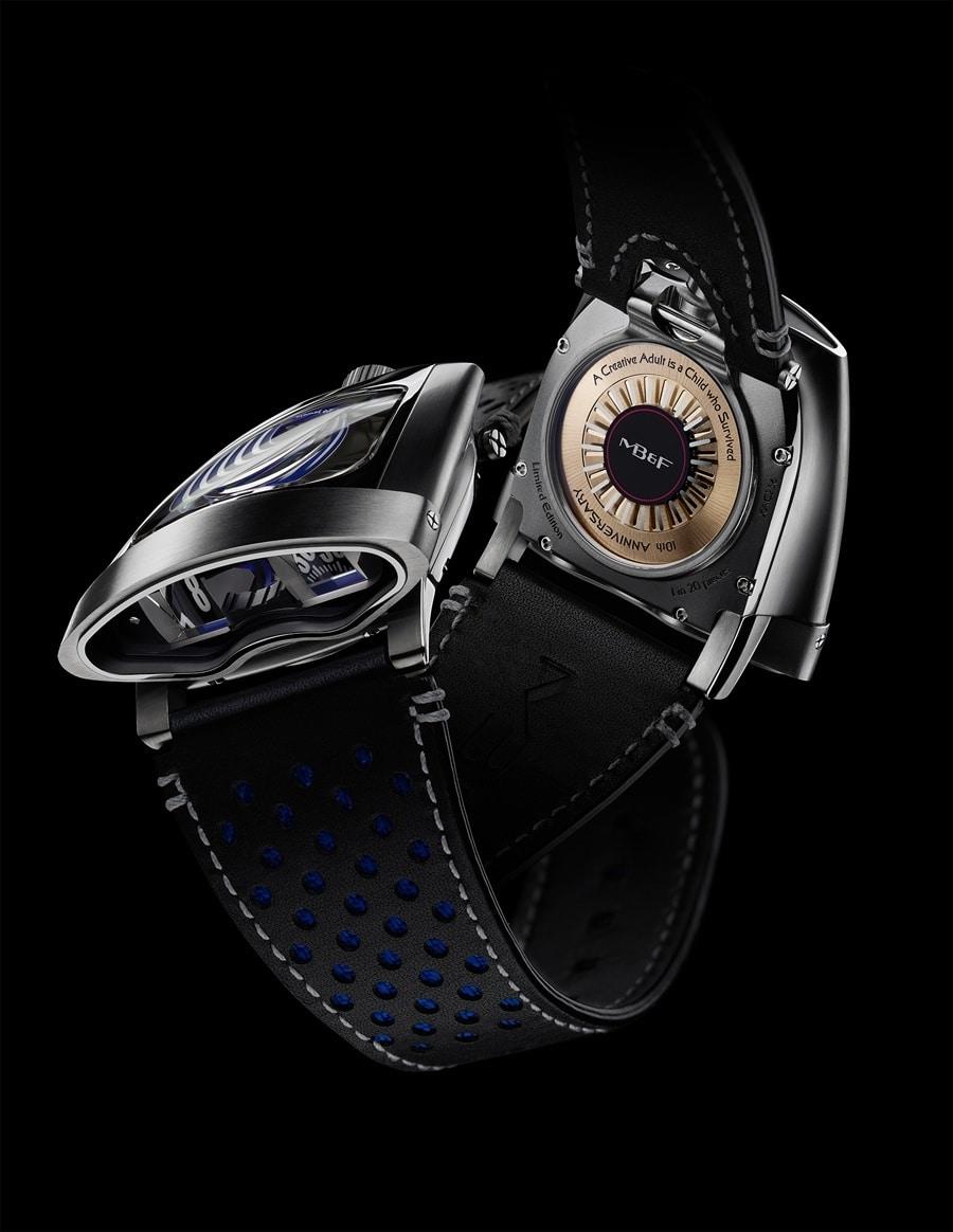 MB&F: HMX, Bugatti-Blau