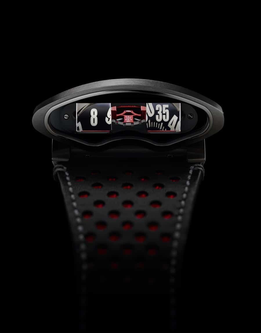 MB&F: HMX, Ferrari-Rot