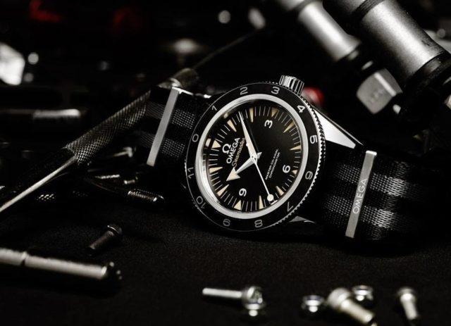 Die Uhr zum James-Bond-Film Spectre: Omega Seamaster 300 Spectre Limited Edition
