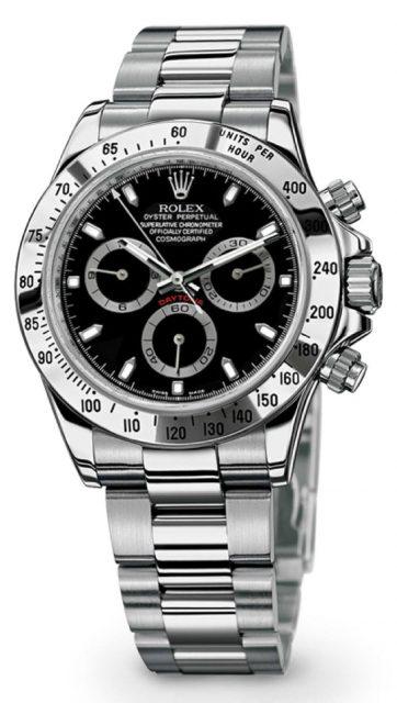 Rolex: Cosmograph Daytona Edelstahl