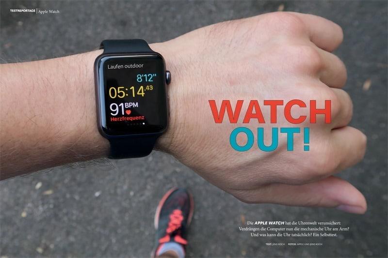 Ob die Apple Watch die mechanische Uhr verdrängen kann, erfahren Sie im Download.
