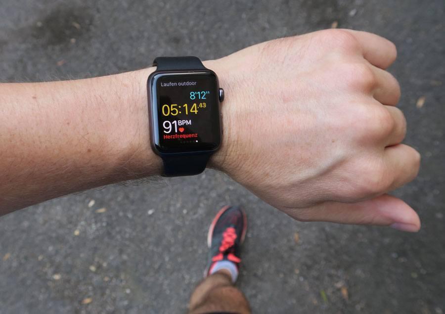 Die Apple Watch im Chronos-Test