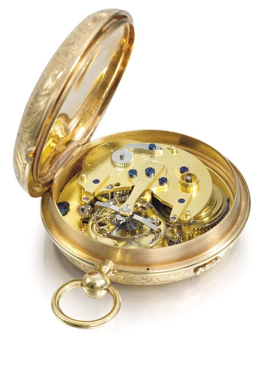 Taschenchronometer mit Tourbillon Breguet Nr. 1176