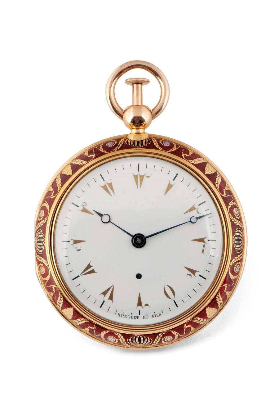 Türkische Uhr mit Viertelstundenrepetition Breguet Nr. 2090