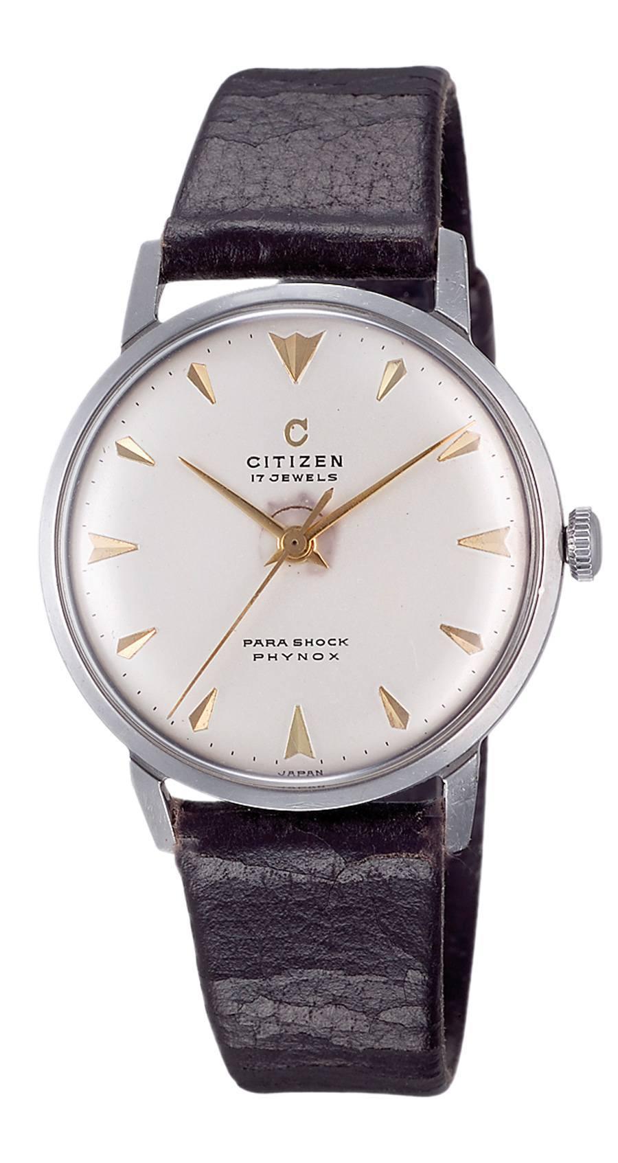 Citizen Parashock: Die Uhr mit dem stoßsicheren Gehäuse stammt aus dem Jahr 1956