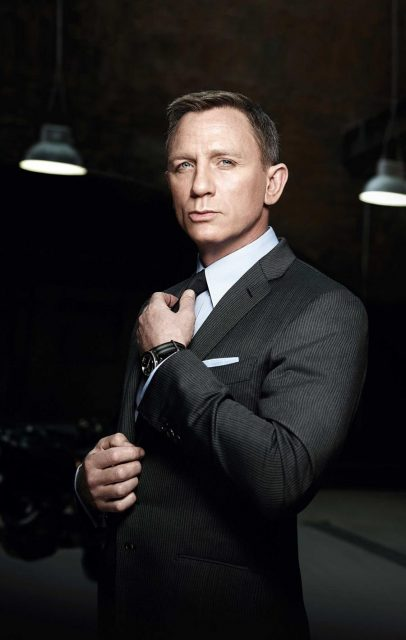 "Daniel Craig und die Omega Seamaster 300 ""Spectre"" Limited Edition in ""James Bond 007 Spectre"""