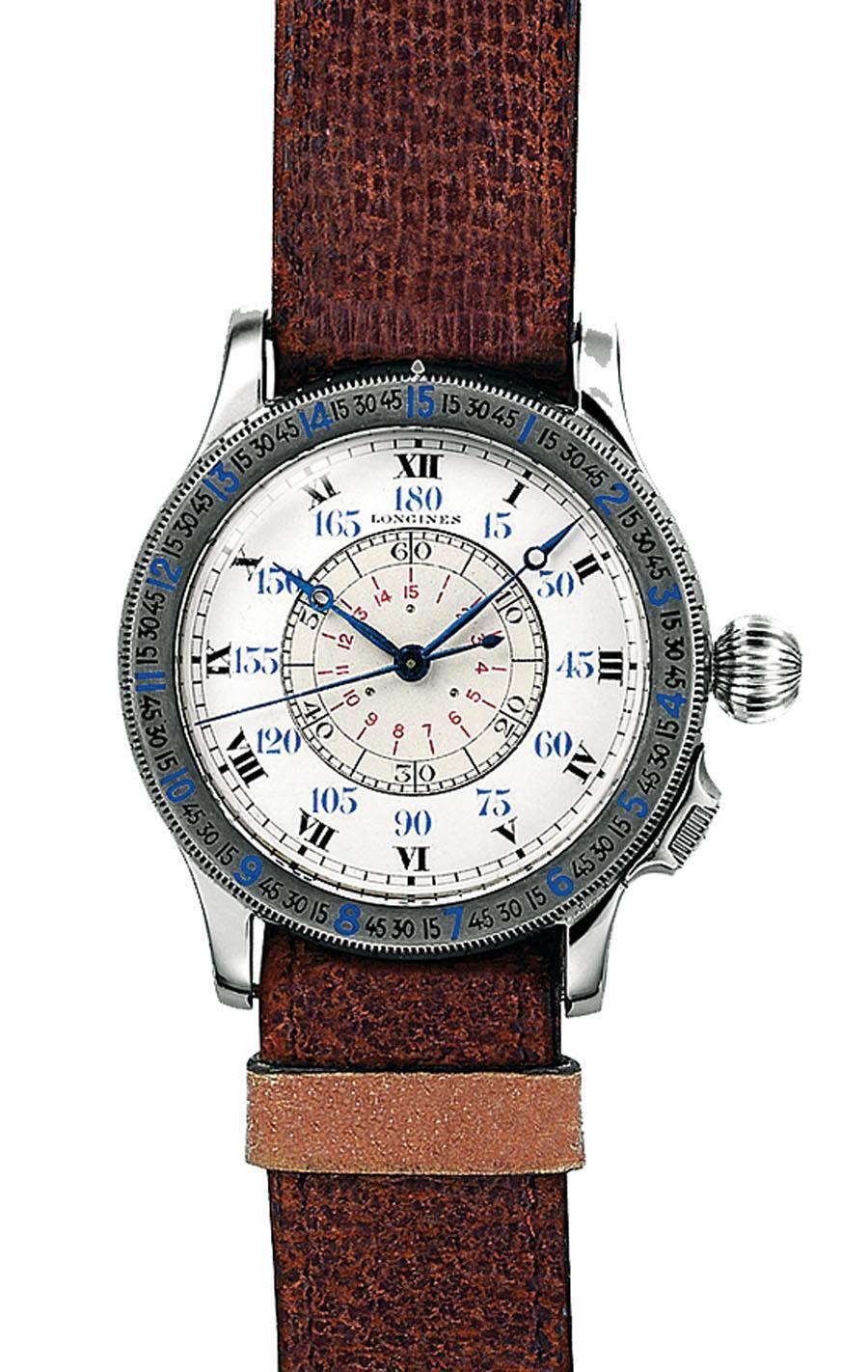 Longines: Lindbergh-Stundenwinkeluhr, 1931