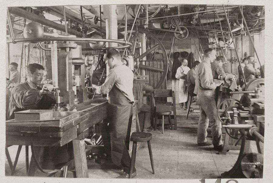 Longines-Werkstatt, 1900