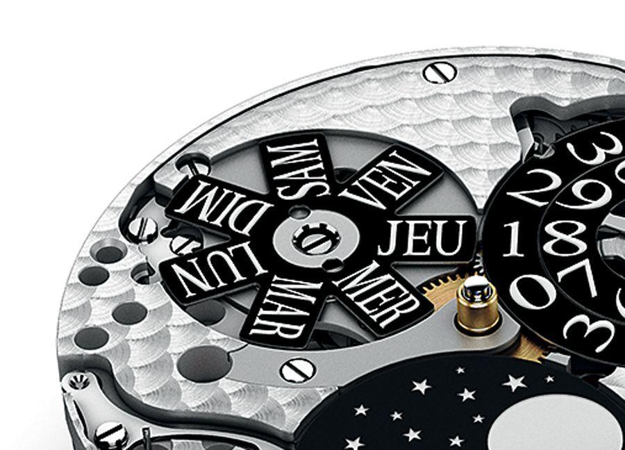 Die französischen Wochentage zeigen deutlich, dass sie von den lateinischen abstammen. Im Bild: Pequignet Calibre Royal.