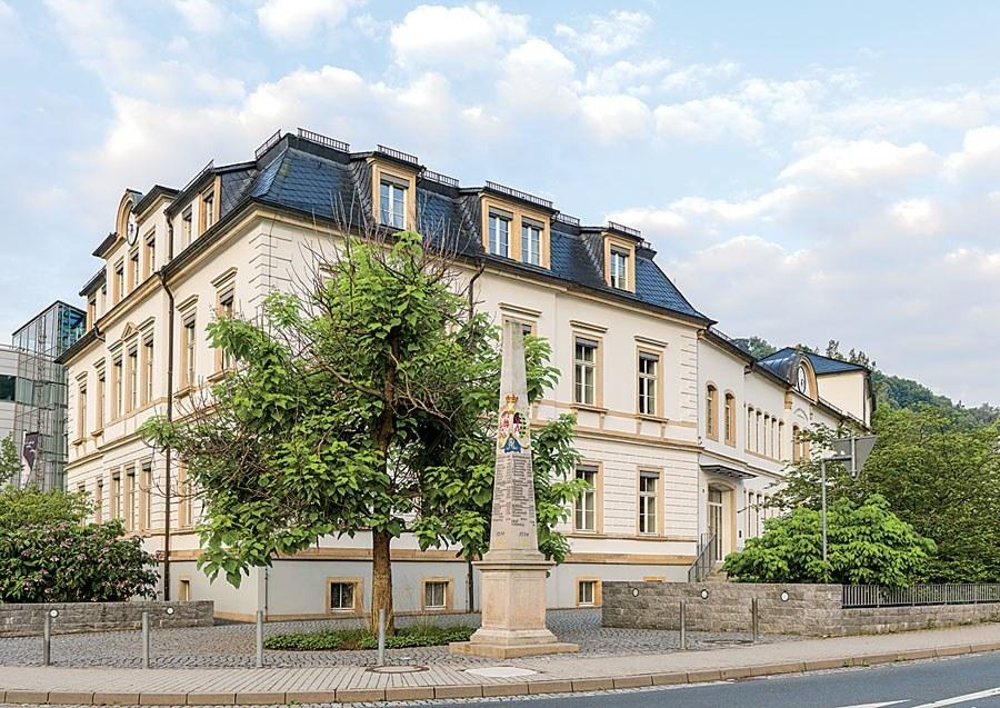 Das Stammhaus von A. Lange & Söhne wurde 1873 erbaut.