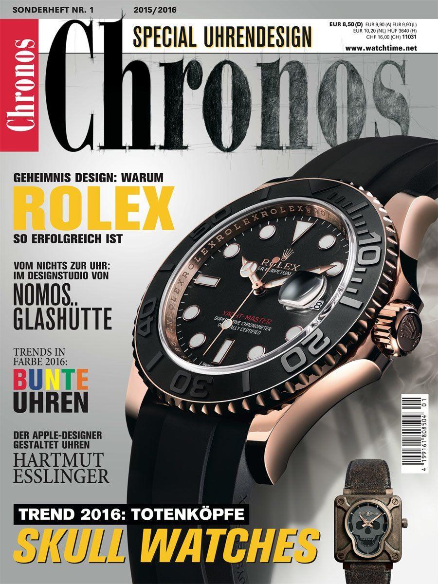 Chronos Special Uhrendesign 2015/2016