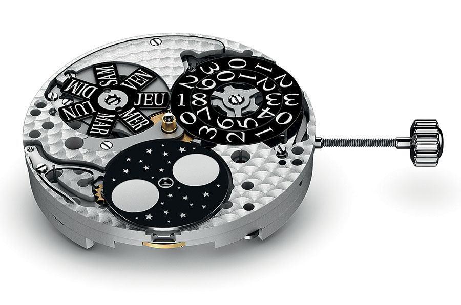 Beispiel für eine Uhr mit Großdatum: Piquignet Calibre Royale