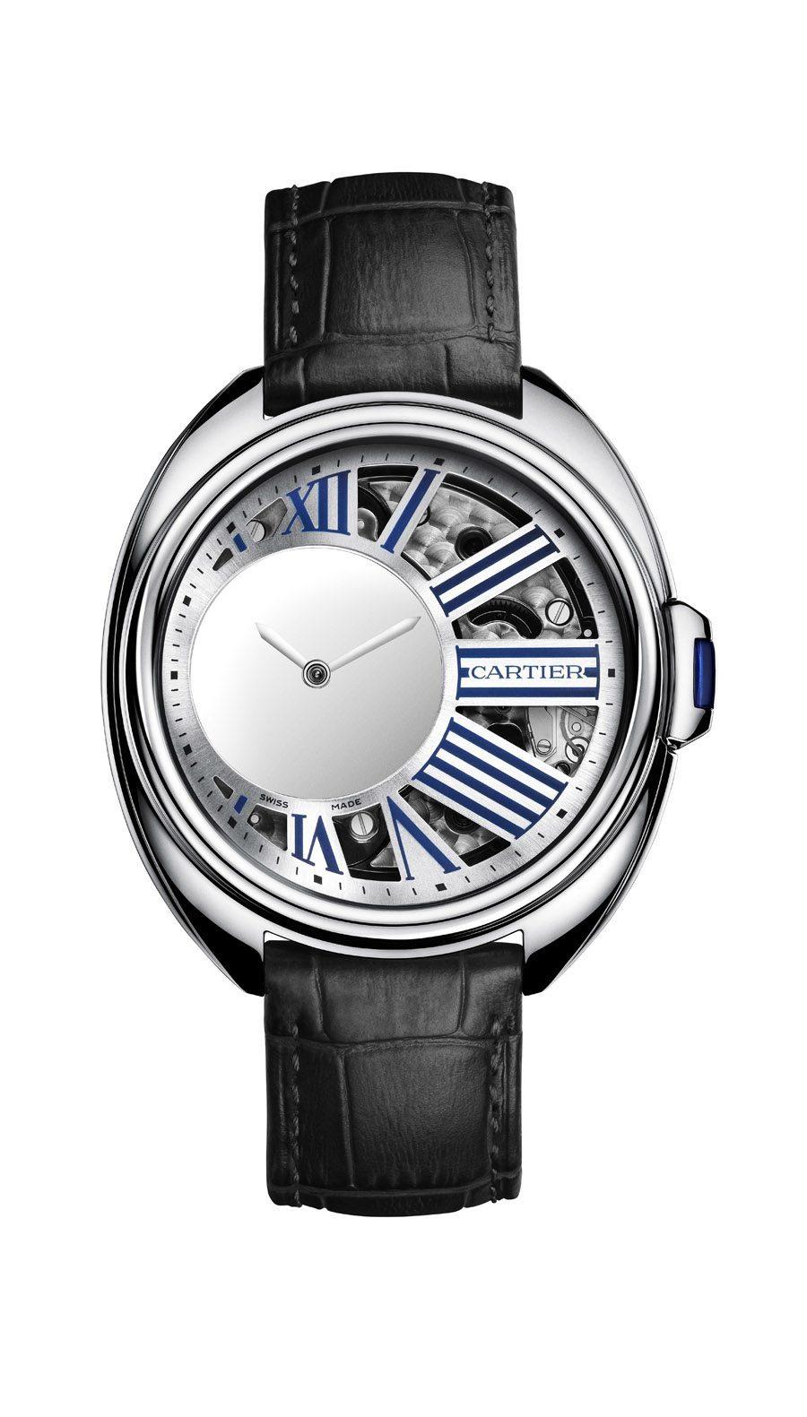 Cartier: Clé de Cartier Mysterious Hour in Palladium