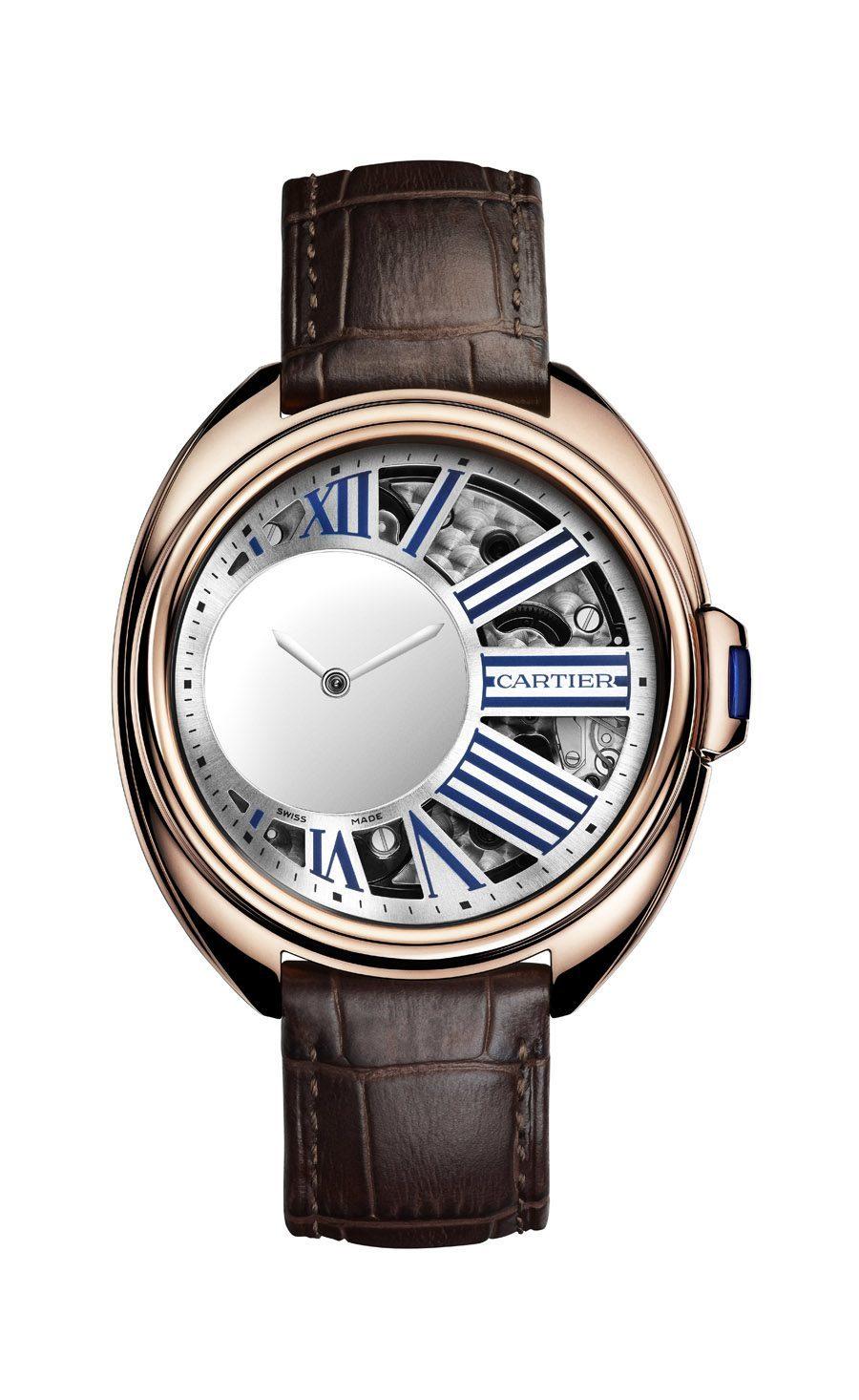 Cartier: Clé de Cartier Mysterious Hour in Rotgold
