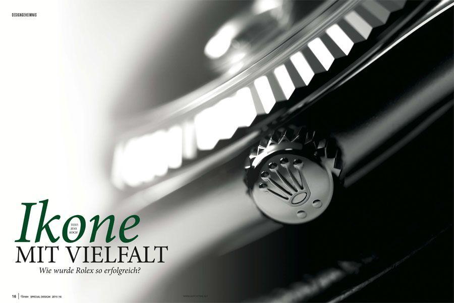 Download Artikel: Designgeheimnis Rolex