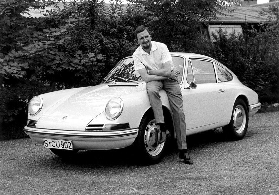 F. A. Porsche, Designer des Porsche 911 und Gründer von Porsche Design