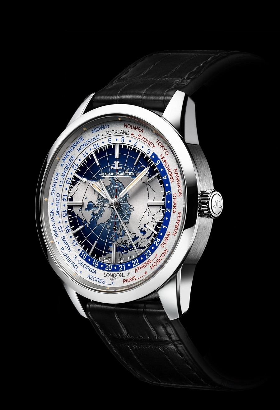 Jaeger-LeCoultre: Geophysic Universal Time in Edelstahl