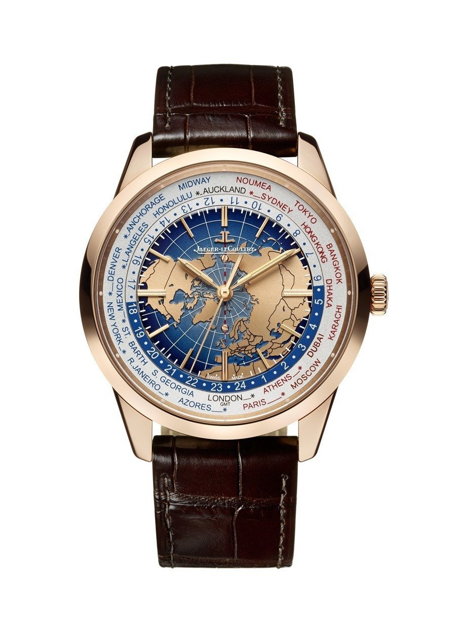 Jaeger-LeCoultre: Geophysic Universal Time in Rotgold