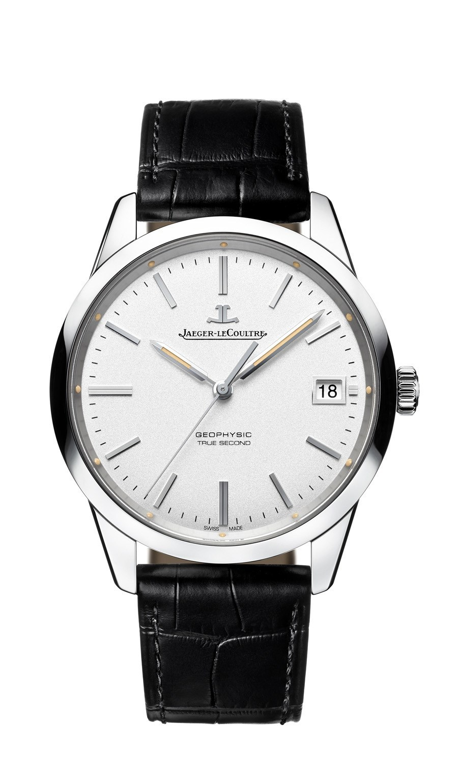 Jaeger-LeCoultre: Geophysic True Second in Edelstahl