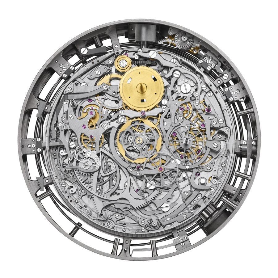 Das Uhrwerk der Komplikationsuhr von Vacheron Constantin (Referenz 57260)