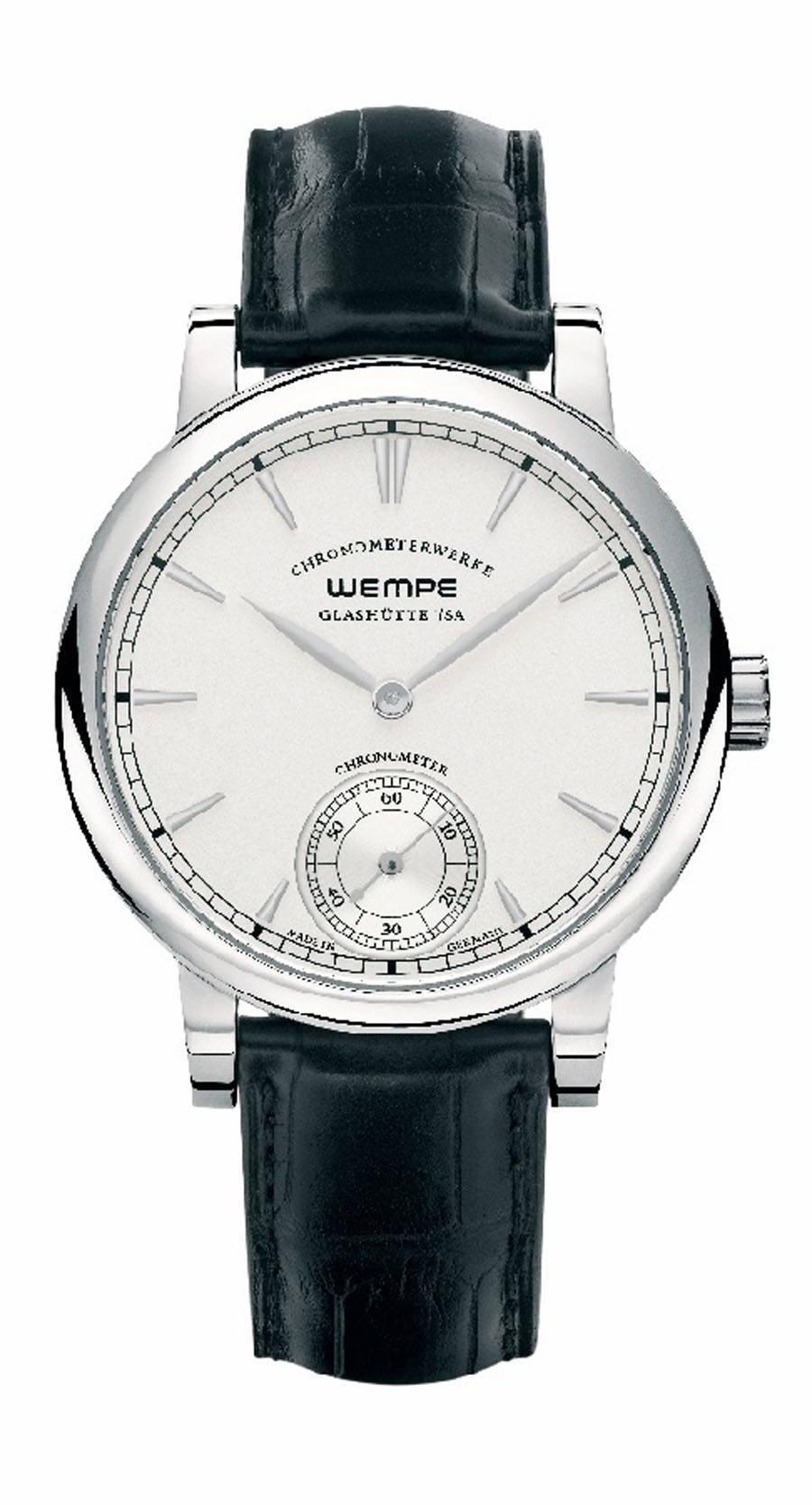 Wempe Glashütte: Chronometerwerke Kleine Sekunde