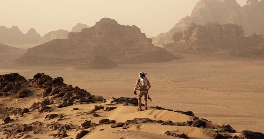 """Im Film """"Der Marsianer"""" mit Matt Damon spielt die Hamilton Belowzero Auto 2826 mit."""