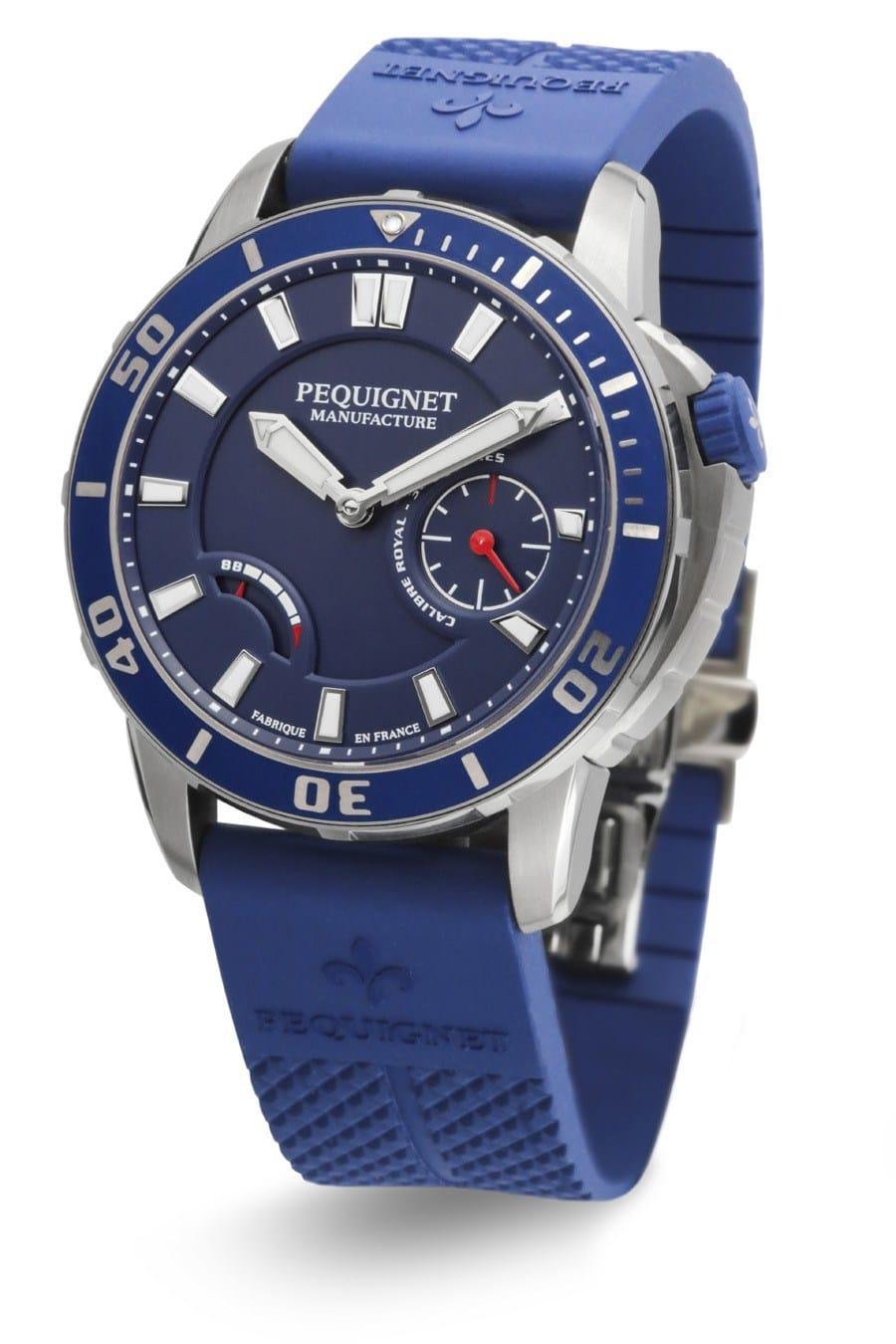 Pequignet: Royale 300 in Blau