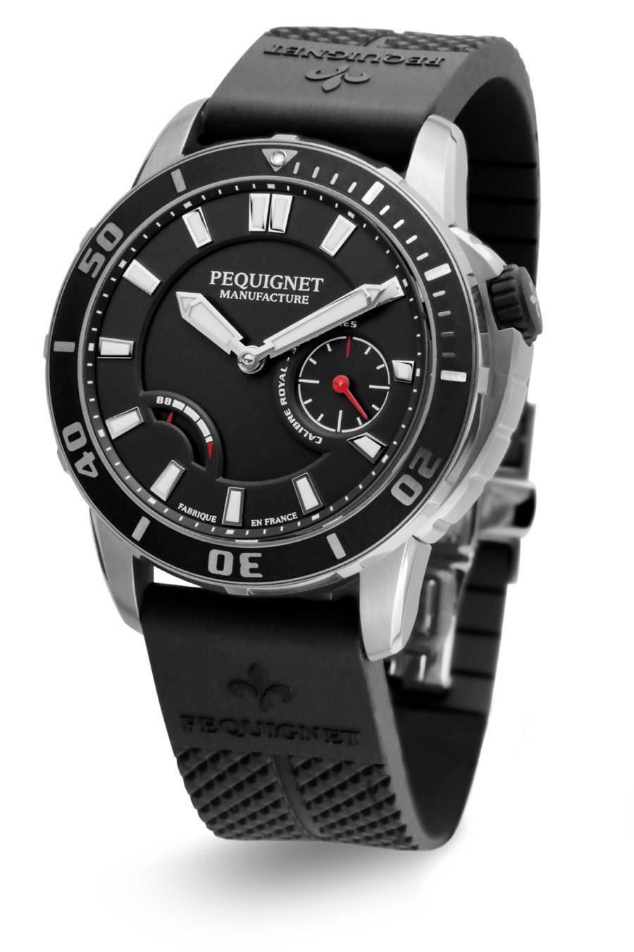 Pequignet: Royale 300 in Schwarz
