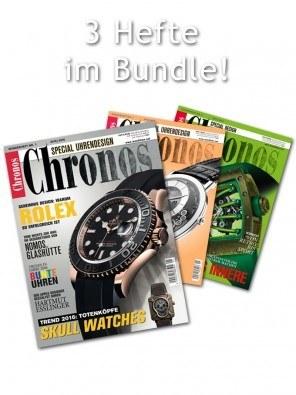 "Bundle ""Uhrendesign"": dreimal Chronos Special Uhrendesign"