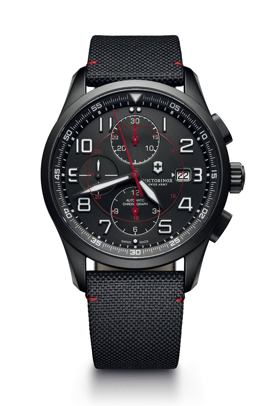 Victorinox: Mechanical Chronograph Black Edition