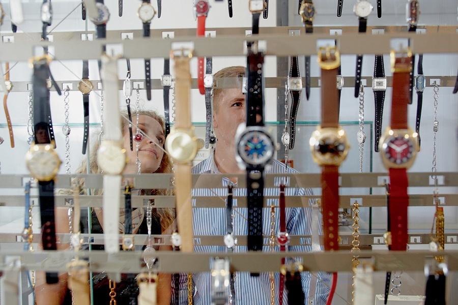 Was hat es nicht schon alles gegeben in der Geschichte der deutschen Uhrenindustrie: Blick zurück im Deutschen Uhrenmuseum in Glashütte.