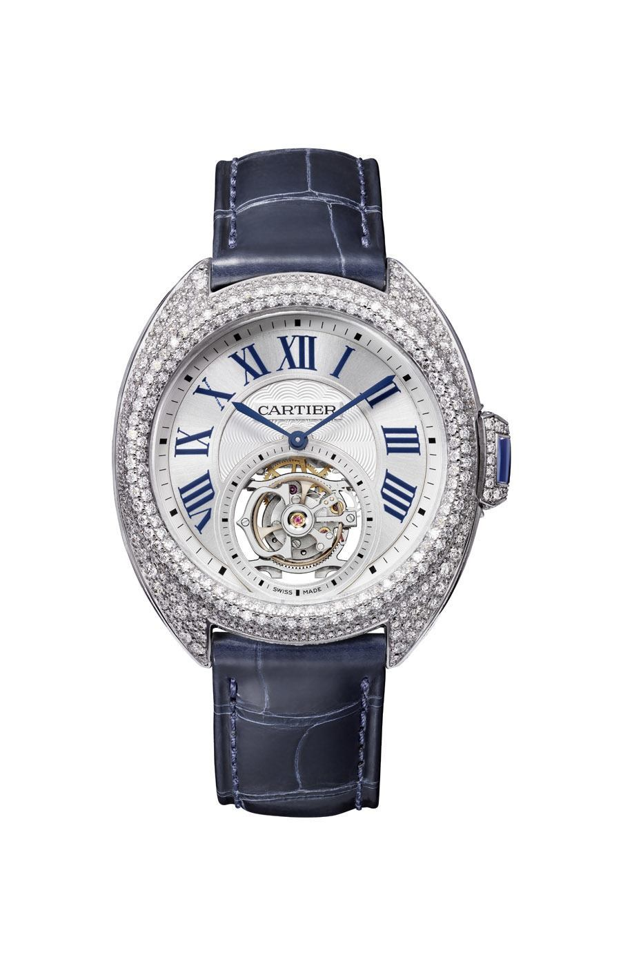 Cartier: Clé de Cartier Flying Tourbillon