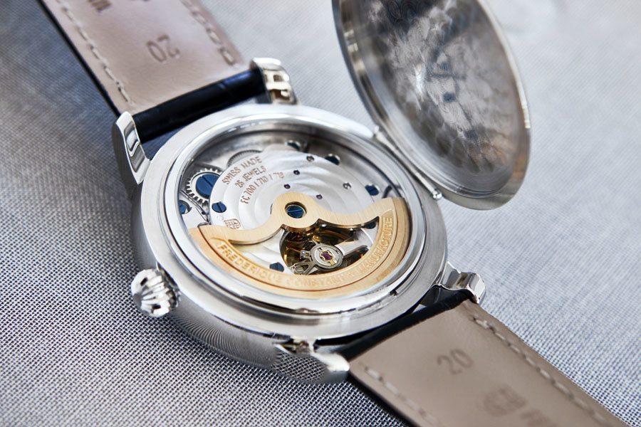 Das 19. selbst entwickelte Uhrwerk von Frédérique Constant: das Kaliber FC-715