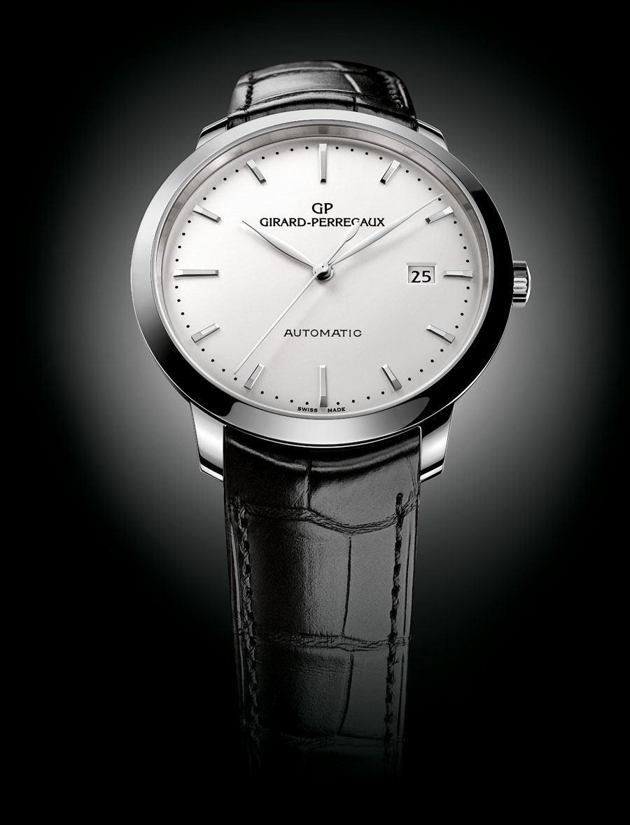 Girard-Perregaux lanciert erstmals ein Modell der Kollektion 1966 in Edelstahl.