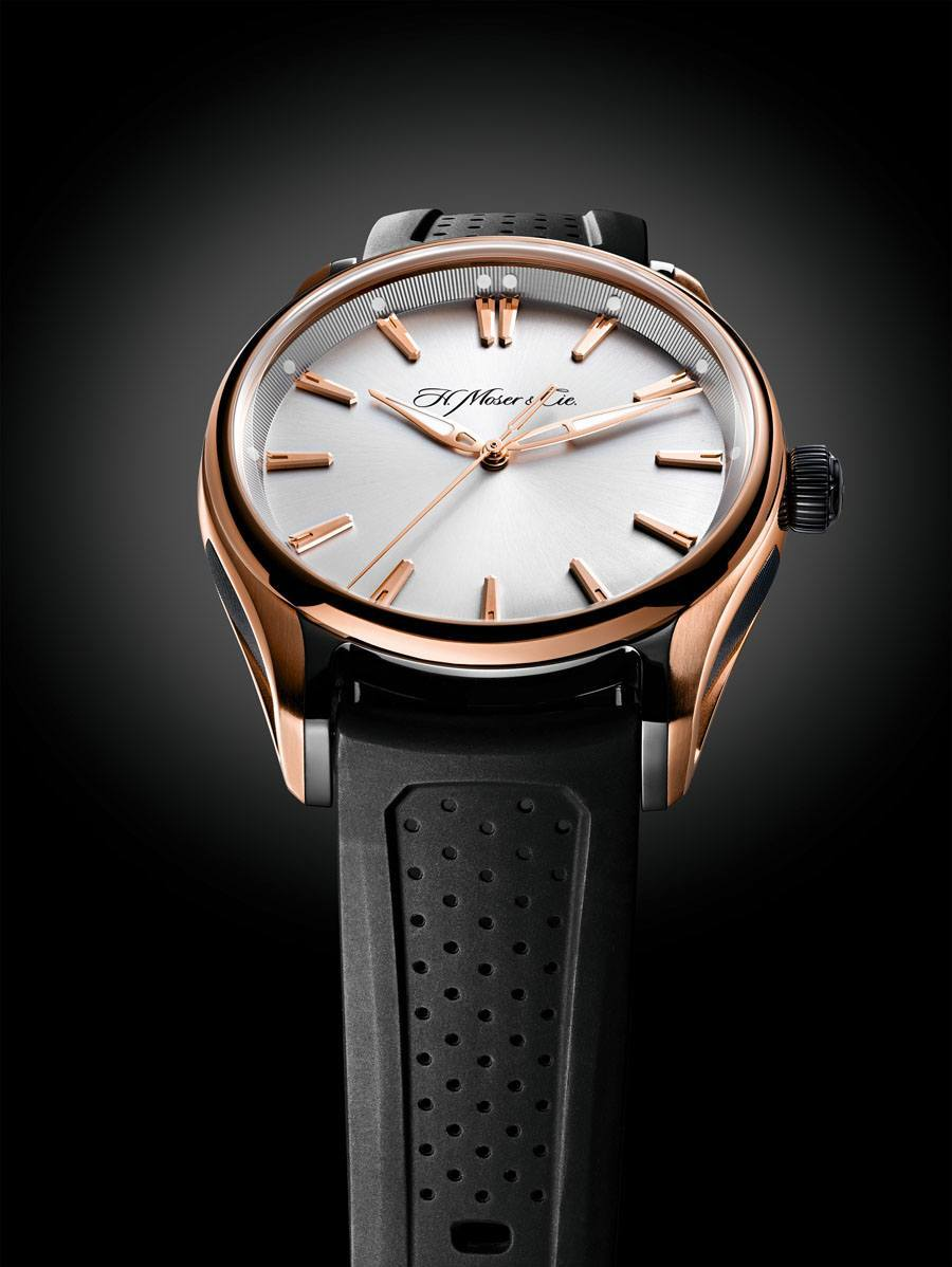 H. Moser & Cie.: Pioneer Centre Seconds Referenz 3230-0900