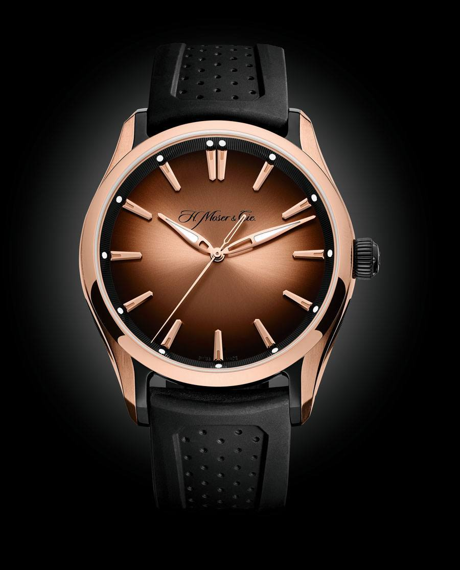 H. Moser & Cie.: Pioneer Centre Seconds Referenz 3230-0901