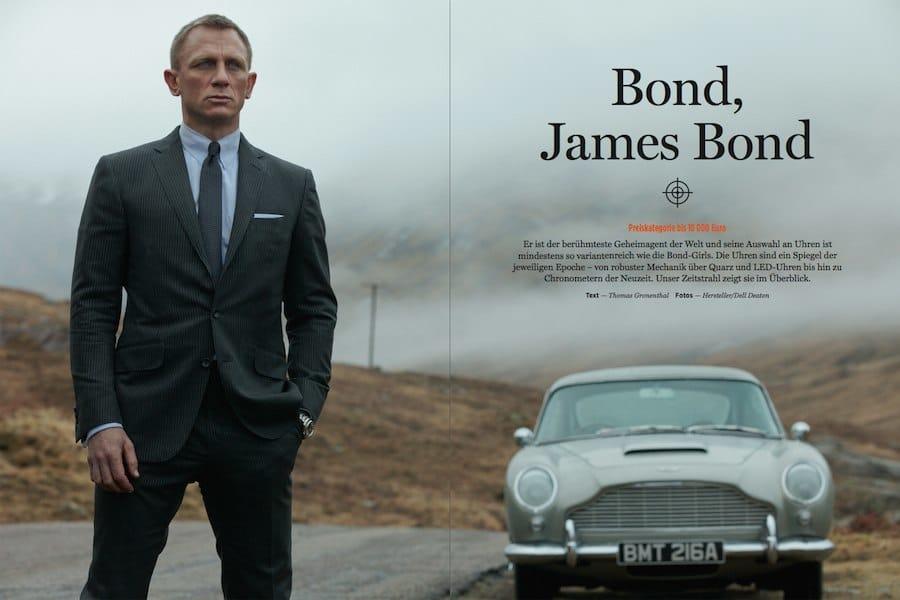 James Bond und seine Uhren: Rolex bis Omega