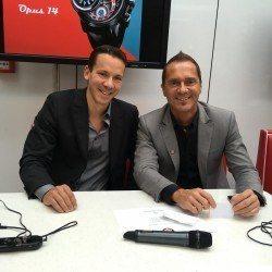 Johnny Girardin und Franck Orny