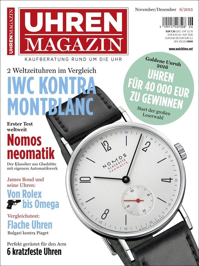 Produkt: UHREN-MAGAZIN Digital 6/2015