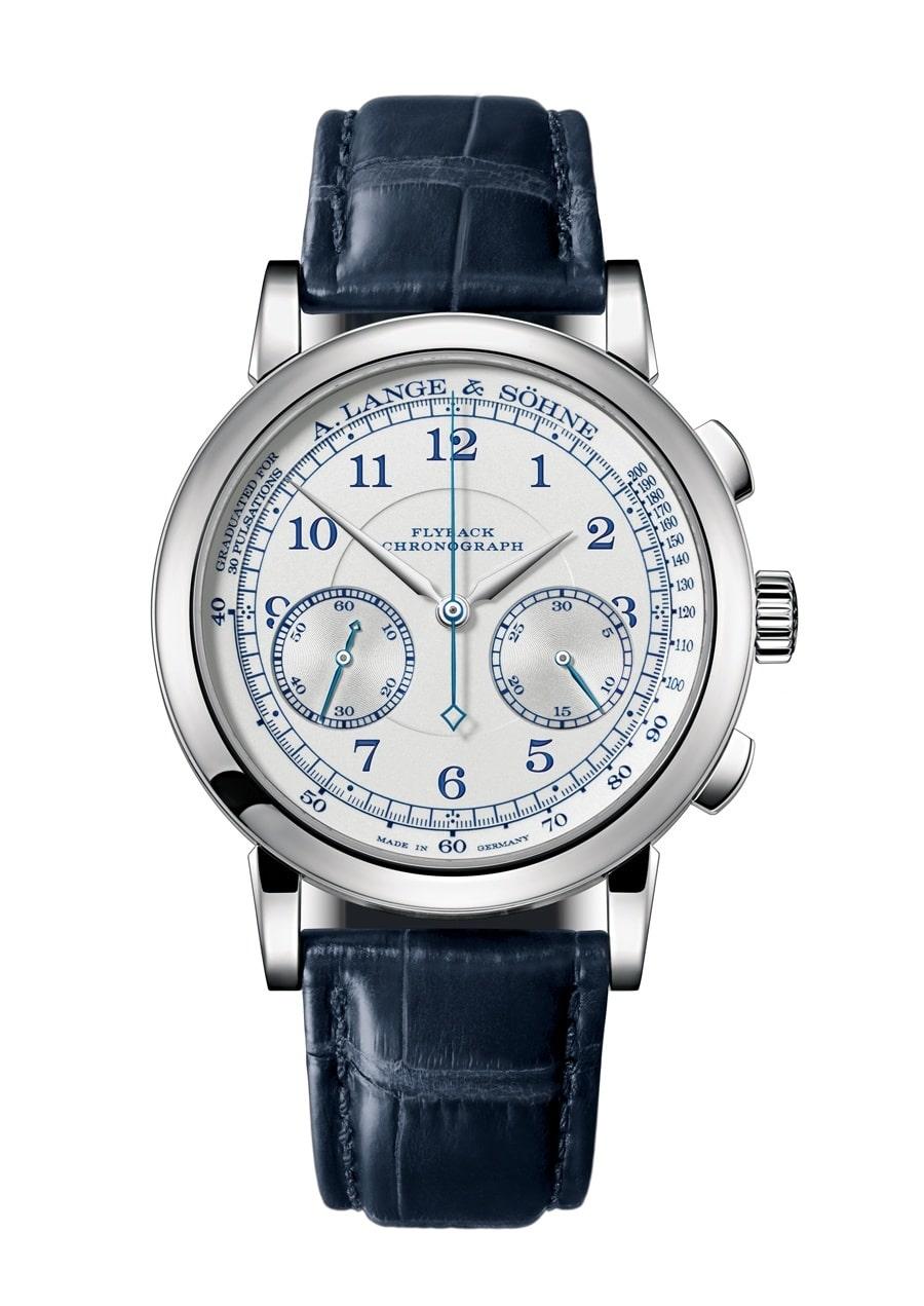 A. Lange & Söhne: 1815 Chronograph in Weißgold | Watchtime.net