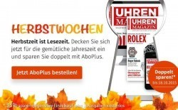Herbstaktion UHREN-MAGAZIN